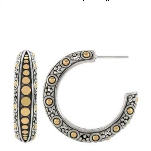 b97482955 John Hardy Jewelry - Authentic John Hardy Jaisalmer dot hoop earrings
